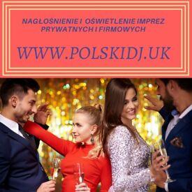 Polish DJ for wedding, birthday corporate event- London POLSKI DJ