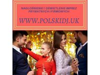 Polish DJ for wedding, birthday corporate event- London POLSKI DJ