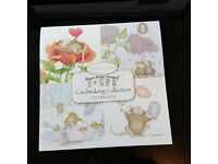 "Joanna Sheen ""HOUSE MOUSE CELEBRATION"" 8"" x 8"" Paper Pad (New) Ideal for Card Making"