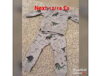 Next boys clothes from smoke and pet free home