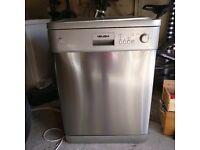 Silver freestanding Bush WV12-75DSS dishwasher for sale