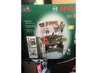 BOSCH, Bosch kids workbench, KLEIN MINI Kids tools