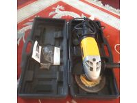 QUALITY, JCB ANGLE GRINDER. SLAB OR WALL CUTTER AND a smaller one to go with it! GOOD WORKING ORDER!