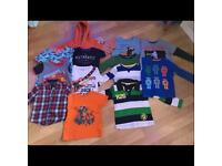 Age 3-4 clothes bundle job lot joules John Lewis boden next seasalt t shirt trousers pjs shorts