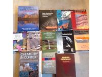 Geology/geoscience/palaeontology/chemistry textbooks