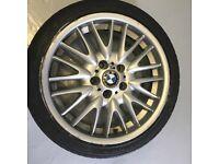 BMW MV1 wheel and tyre