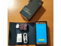 SAMSUNG GALAXY S7 EDGE GOLD 1 MONTH OLD