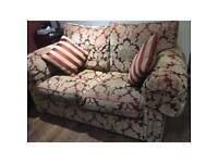 Two seater Duresta sofa