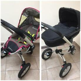 Quinny Buzz Pram And Cot Set