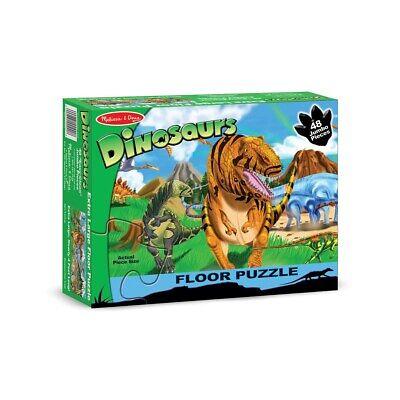 Melissa & Doug Dinosaur Floor Puzzle Play Set NEW NIB 442 Toy Melissa & Doug Toys Dinosaur Floor Puzzle