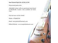 EXPERIENCED & AFFORDABLE GUITAR TUITION, 1st lesson FREE, Sam Plackett LLCM - tutor/teacher, London.