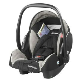 Recaro Profi Plus Champagne/Black Carseat