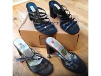 Christmas Ladies Party Sandals size 36 and 37 (3-4)