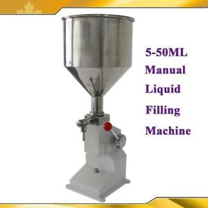 Manual 5-50ML Liquid Cream Filling Machine Filler Cream Shampoo Cosmetic Packing  (Item#070741 )