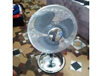 30cm metal oscillating fan