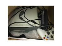 Xbox 360 with extra storage and white controller