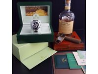 New Silver Rolex Daytona with Black Face Comes Rolex Bagged And Boxed With Paperwork