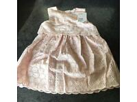 Girls pink H&M Dress, new with tags, Various Sizes.