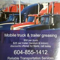 MOBILE GREASING SERVICES