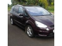 FORD S-Max Titanium TDCI 2009, 96100 miles, automatic. Lovely driver, long MOT.