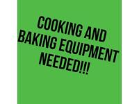 Kitchen equipment needed