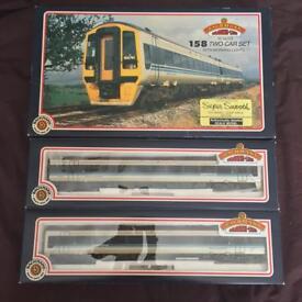 BACHMANN 31-503 CLASS 158 2 CAR REGIONAL RAILWAYS EXPRESS DMU 2nd hand