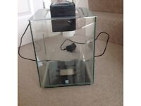 20 litre fish tank and accessories