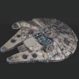 DEAGOSTINI STAR WARS MILLENNIUM FALCON MODEL KIT SCALE 1:1