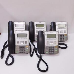 Lot of (5) Avaya / Nortel 1120E IP Deskphones - NTYS03BFE6