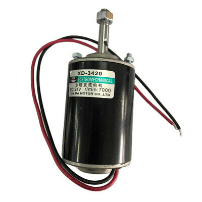 24v 30w 7000rpm High Speed Cwccw Reversible Permanent Magnet Dc Motor