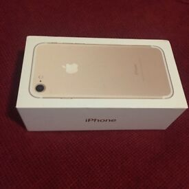 Brand New iPhone 7 Gold (32gb) (Unlocked)