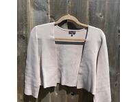 Phase eight crop knit jacket