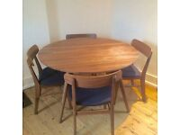 **HABITAT Excellent Dining Table + 4 Chairs** Bought in January 2017 (worth £799)**