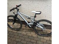 For sale 2 mountain bikes full suspension total refurbishment first class condition