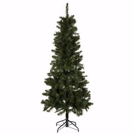 B&Q Chamonix Christmas Tree 6ft 6in (198cm) vgc / PRE-BLACK FRIDAY SALE!