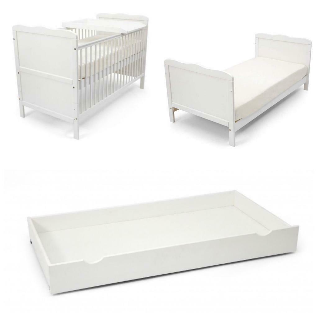 super popular 4dc12 ef6ae BRAND NEW Wayfair cot bed with Coolmax mattress, drawer & cot top changer |  in Emersons Green, Bristol | Gumtree