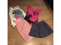 9-10 year old girls clothes job lot bundle 11 items