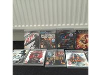 Assortment of ps 3 games