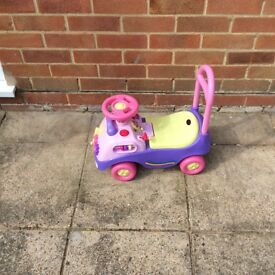 Pink sit on rider
