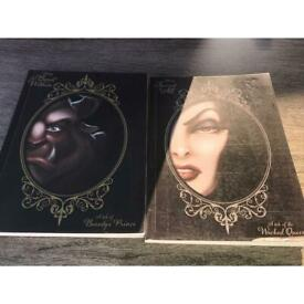 Disney the beast within & Fairest of All books