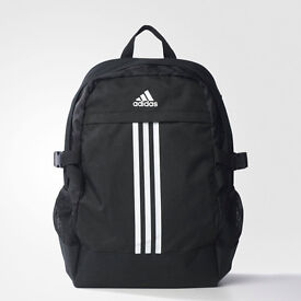 Adidas Black and Grey Lined Back Pack for £15.00