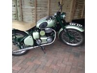1956 ariel colt mint condition taxed and ready to ride
