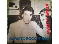 Rare Signed Marty Wilde Vinyl