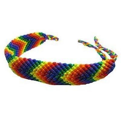 Gay Pride Friendship Bracelet Rainbow and Bear Pride Many Designs LGBTQ -