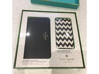 Kate Spade Zip Wristlet Purse and IPhone 6 Plus/6s Plus phone case.