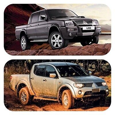 Mitsubishi L200 workshop service repair manual 1996 to 2012