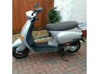 50cc vespa piaggio moped /scooter £250 ono