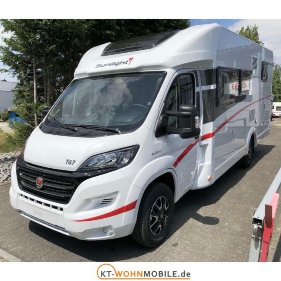 Wohnmobil mieten Sunlight T67 Teilint. Erstz.2019 Automatik 150P in Meppen