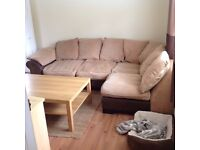 Left hand corner sofa from dfs