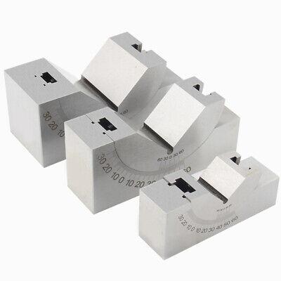 Precision Adjustable Gauge 0 To 60 Degree Angle V Block For Milling Drilling